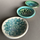 Thumbnail: Trio of mini dishes - blues/greens