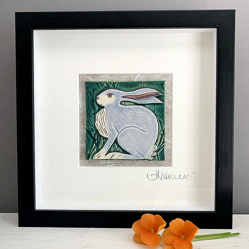 Small 'Hare' Tile Frame