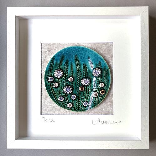'Flora' tile frame - medium