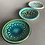 Thumbnail: Trio of mini dishes - blues/greens