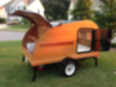 Convertible Teardrop Trailer