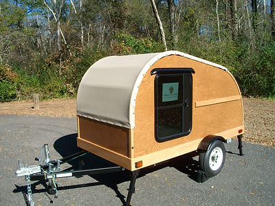 Oak Convertible Teardrop Trailer