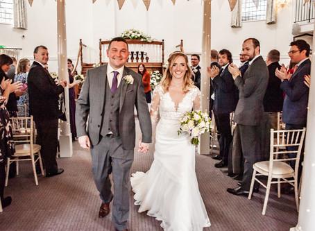 Caroline and Simon, 28th October 2019, King Chapel,Amersham