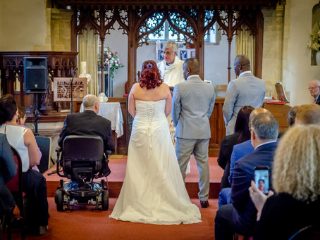 St Mary's Woughton on the Green Church, Milton Keynes. Heather & Brian 20th of October 2018