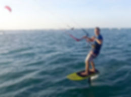 Learn how to ride a hydrofoil behind out boat, with a kite. Learn to wakefoil or ride a surf foil.