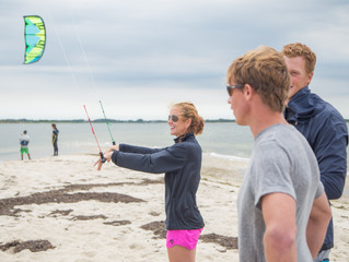 Do you have what it takes to learn to kiteboard?