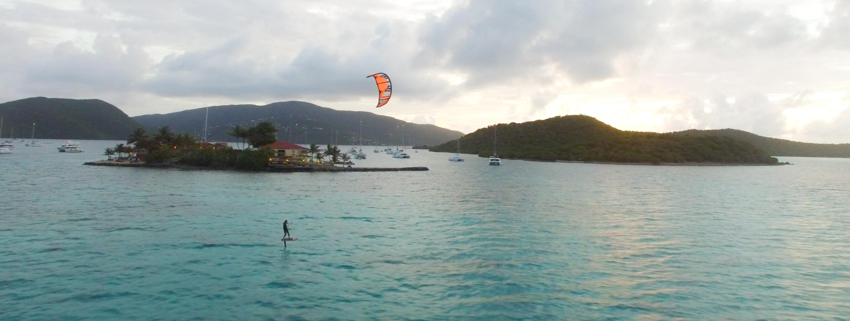 Hydrofoil Saba Rock, BVI