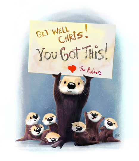 Get Well Card for Chris