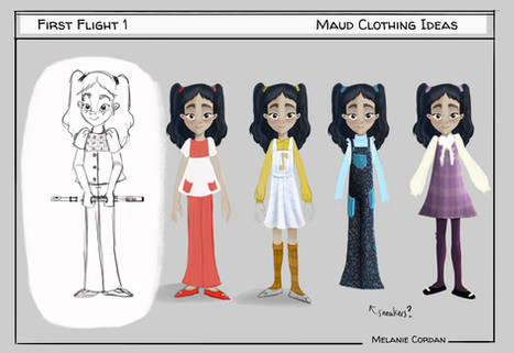 clothing studies for Maud