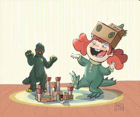 Godzilla and Me