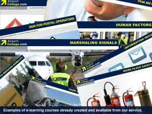 Airport College web-course examples.