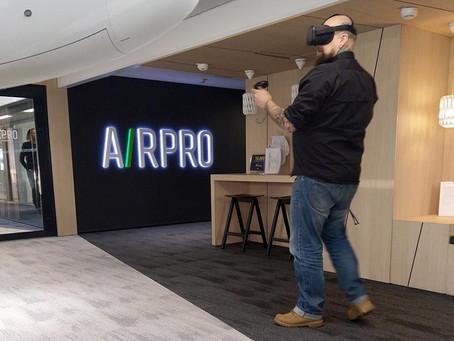 Virtual Reality Aircraft Walkaround Check