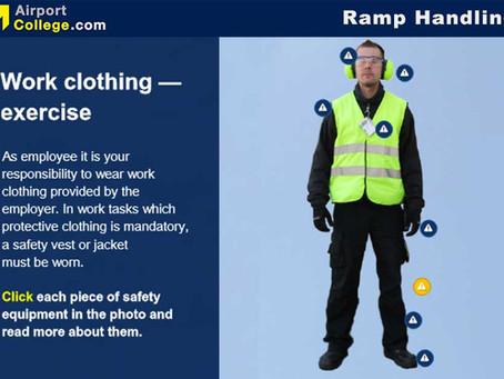 Ramp Handling Staff in Focus