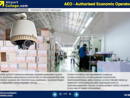 AEO – Authorised Economic Operator e-learning training course now available