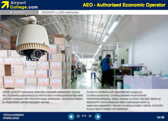 Airport College AEO Authorised Economic Operator
