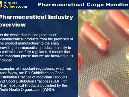 Online eLearning course for Pharmaceutical Cargo Handling