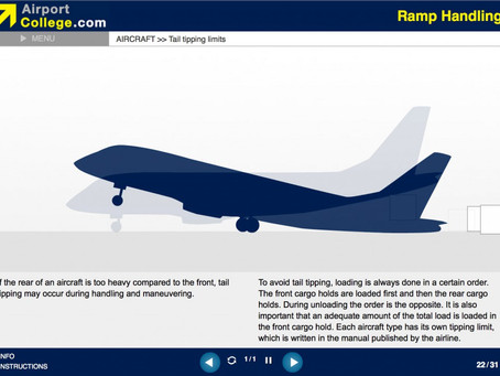 Ramp Handling e-Learning training course