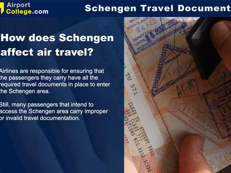Schengen Travel Documents eLearning Course for Airlines and Ground Handling Companies