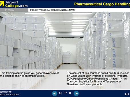 Pharmaceutical Cargo Handling – a new e-Learning online training!