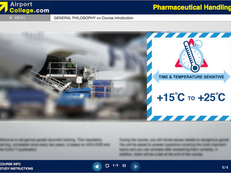 Pharmaceutical Handling – a new e-Learning online training course out soon!