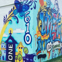Unity in our community mural will be off
