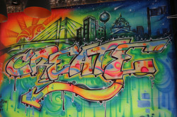 Mural at Codefi By:Malcolm McCrae