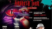 """Airbrush Assassin"" McCrae presents Hip Hop Airbrush Tour- St.Louis, Missouri"
