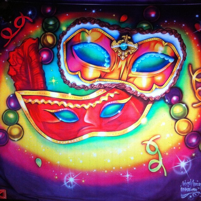 Instagram - Mardi Gras backdrop! Where you at baby. I had a blast with this one.
