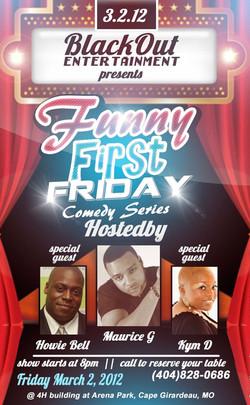 First Fridays Flyer