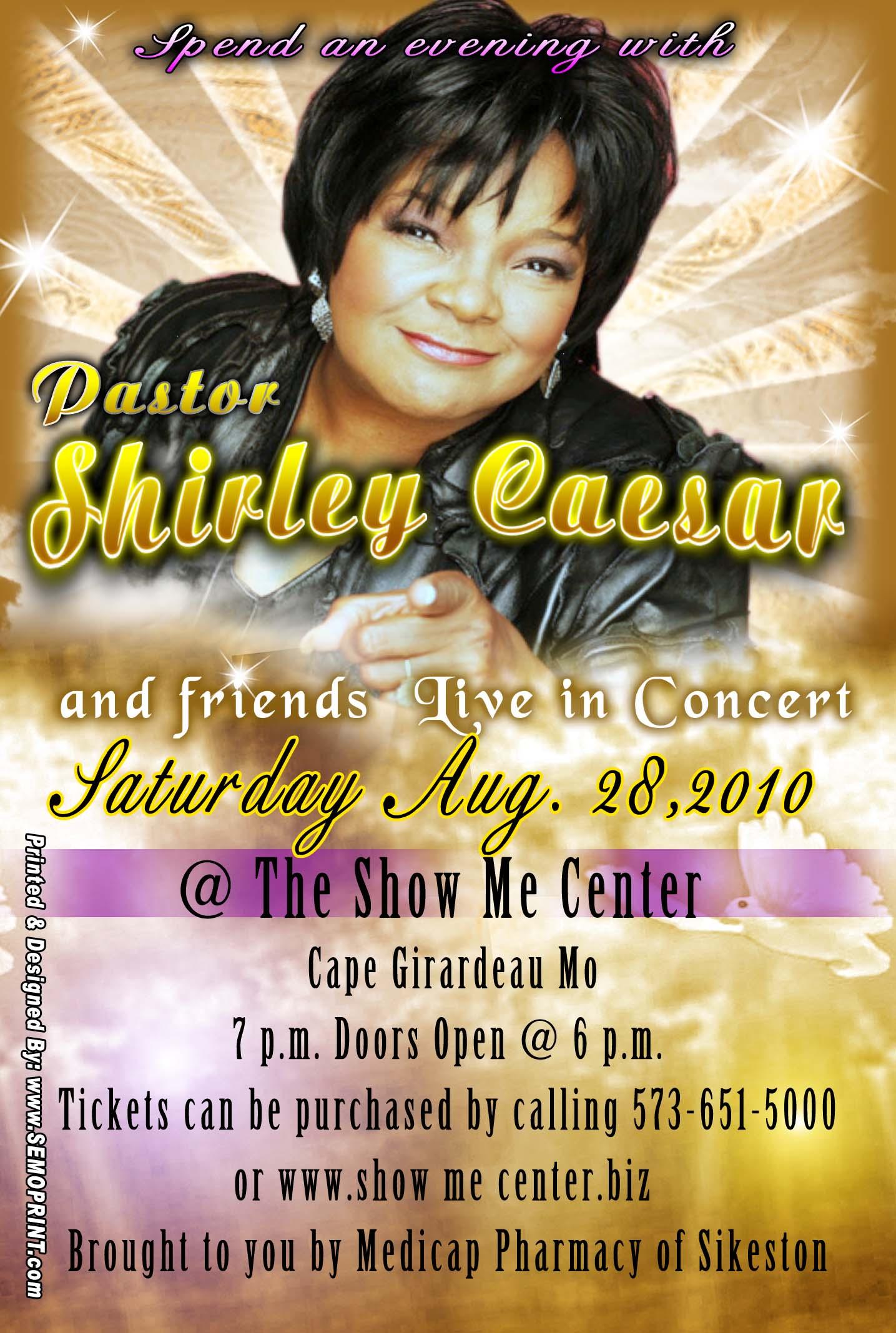 4x6 Shirley Caesar