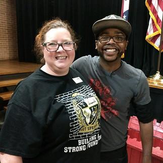Malcolm Inspires Over 200 Arkansas Educators