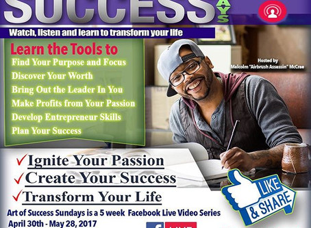 The Art of Success Sundays Live from Facebook