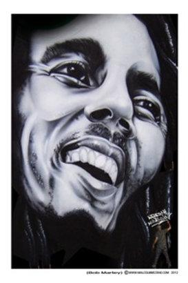 Bob Marley B/W