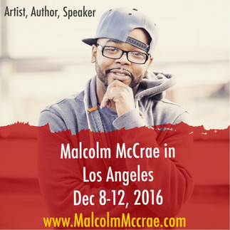 Malcolm McCrae is coming to LA to create and inspire.