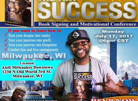 The Art of Success Book Signing in Milwaukee