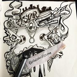 Instagram - A star was born!! #art #malcolmmccrae #sketch #star #artlife #create