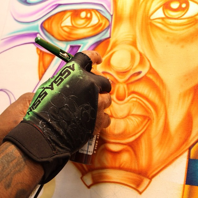 Instagram - Create something today!! #art #malcolmmccrae #airbrush #create #pain