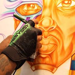 Instagram - Create something today!! #art #malcolmmccrae #airbrush #create #pain