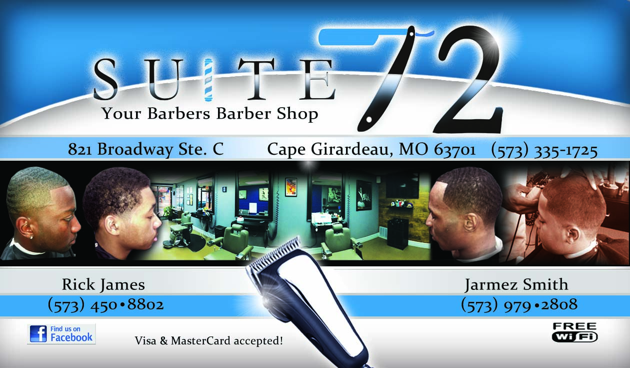 Suite 72 Business Card