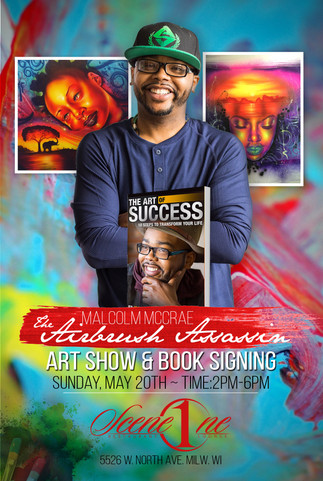 Art Show & Book Signing in Milwaukee