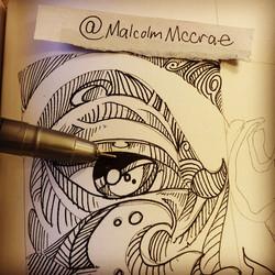 Instagram - Art is my motivation!! What's yours? #malcolmmccrae #artlife #art #d