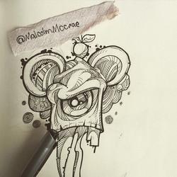 Instagram - #pencil #sketch #colourpencil #draw #vanellopevonschweetz #polychrom