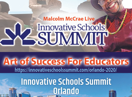 Join Malcolm in Orlando with over 500 educators