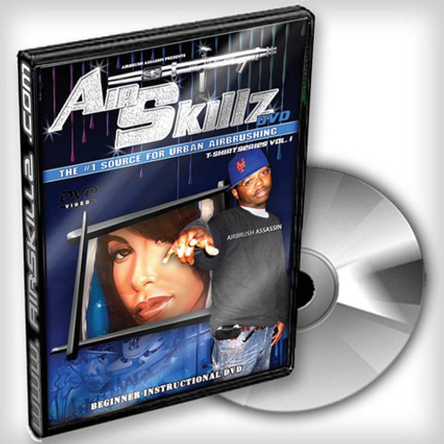 Hip-Hop Airbrush 101 DVD