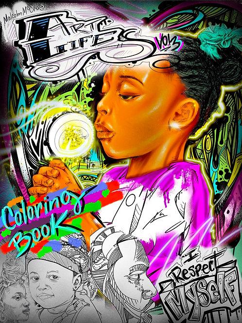 ArtLife Coloring Book Vol.3