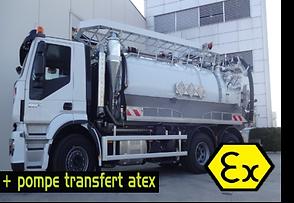 ATEX pompe transfert