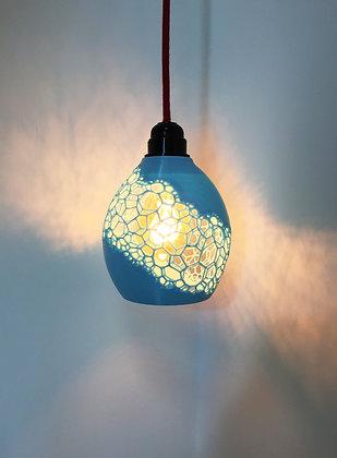 lampe suspendue voronoï