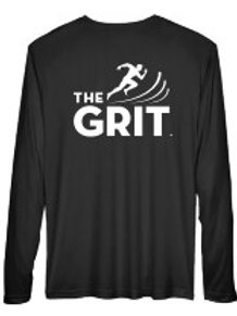 Men's Black Performance GRIT Tee