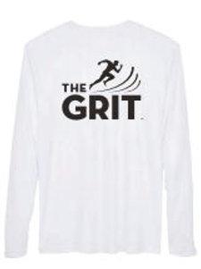 Men's White Performance GRIT Tee