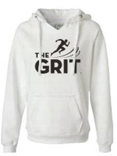 White Hooded GRIT Sweatshirt